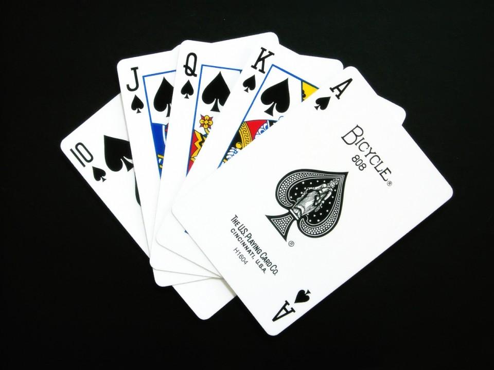 Как распечатать покерные комбинации