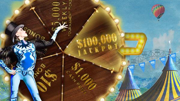 Jackpotland — 888Poker приглашает в мир джекпотов