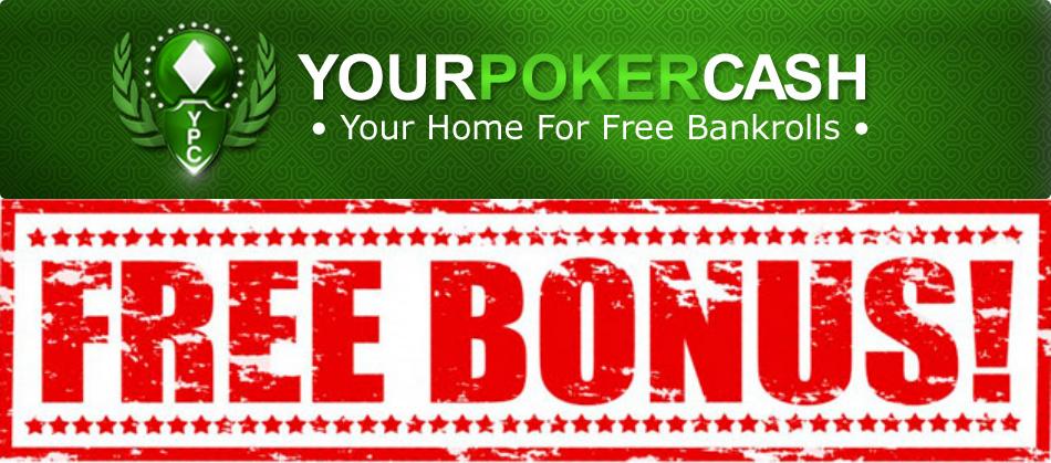 Бездепозитный бонус на YourPokerCash