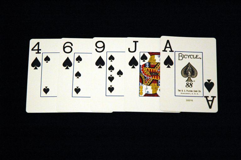 Что такое флеш в покере
