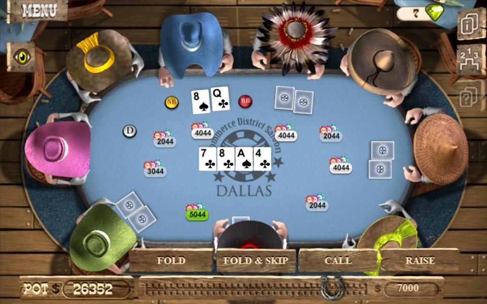 онлайн техасский покер игра