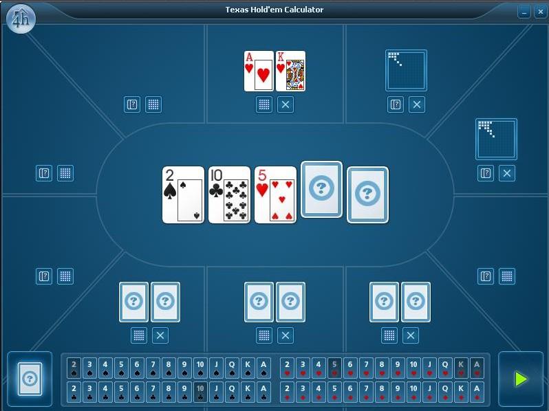 Калькуляторы покера для Андроид