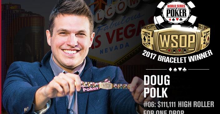 Дуглас Полк (WCGRider) выиграл турнир хайроллеров на WSOP-2017
