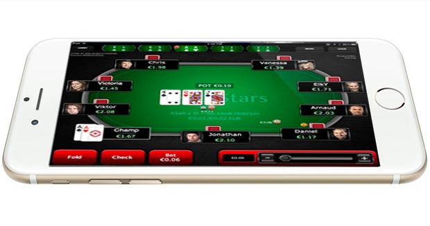 Покер на деньги на Айфон