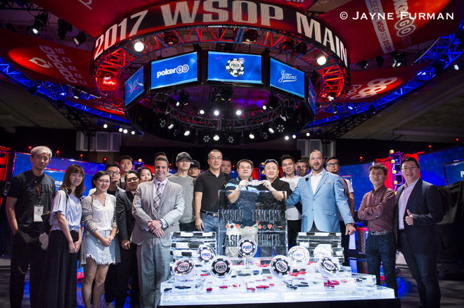 World Series of Poker отправляется в Китай