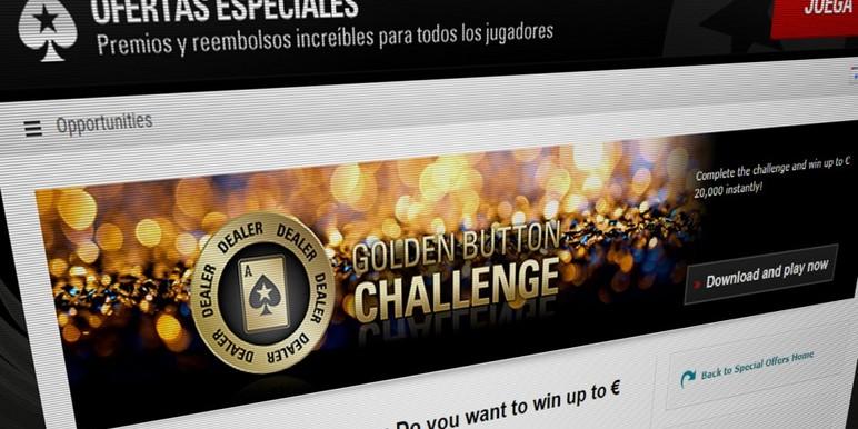«Golden Button» от PokerStars — больше рекреационных игроков