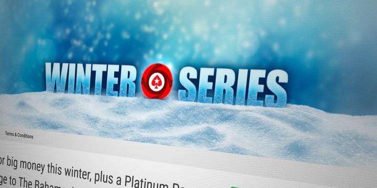 На PokerStars состоится тематическая серия Winter Series